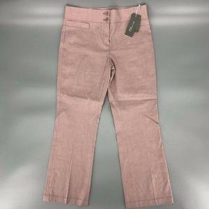 Nordstrom Signature Straight Dress Pants Sz 6 NWT